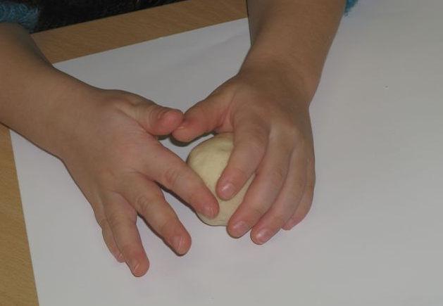 malaxer pâte à sel
