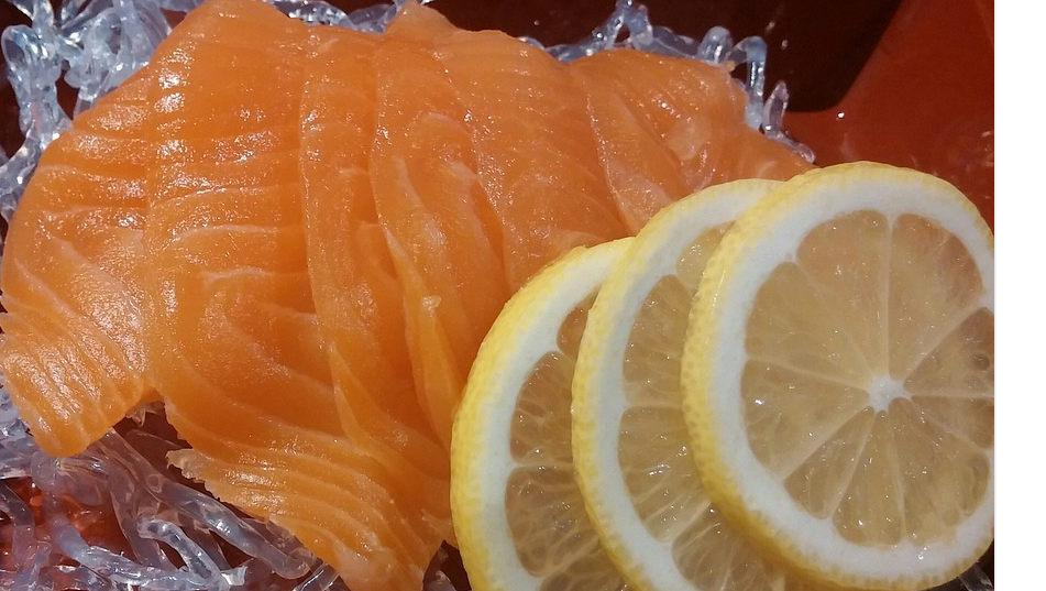 saumon fumé et citron