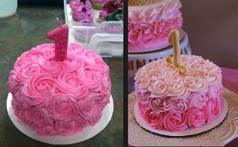 gâteau d'anniversaire pour filles